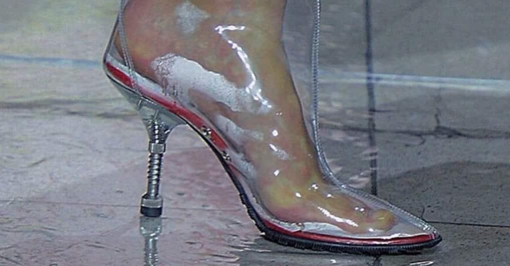 9ec6d9935b6 Transparent shoes are actually a health risk