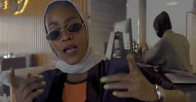 "Saudi Arabian rapper facing arrest for her ""Mecca Girl"" music video"