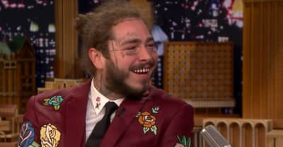 Post Malone previews new song on Fallon