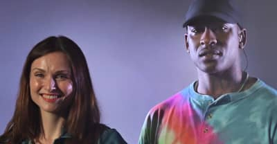 "Watch Skepta perform ""Love Me Not"" with Sophie Ellis-Bextor"