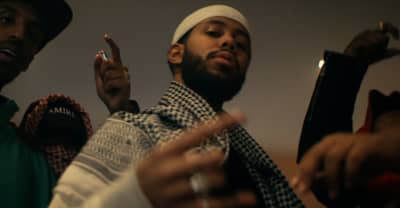 "Mustafa shares new video ""The Hearse"""