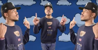 Watch Chance The Rapper Cover The Arthur Theme Song With Ziggy Marley And Stephen Colbert