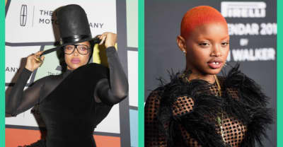 "Slick Woods says Erykah Badu is a ""mommy role model"""