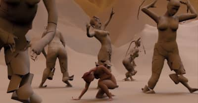 """Eartheater Ventures Into The Self (And Is Reborn) In The Surrealist CGI Video For """"Ecdysisyphus"""""""