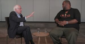 Watch Killer Mike's interview with Bernie Sanders