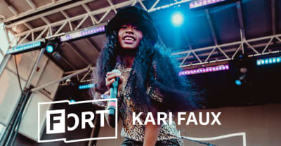 "Watch Kari Faux perform a hazy ""LEAVE ME ALONE"" at The FADER FORT"