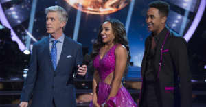 Watch Tinashe make her Dancing With The Stars debut