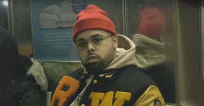 "Lansky Jones gets gritty on the NYC subway for his ""Know The Type"" video"