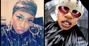 Missy Elliott dressed as herself for Halloween