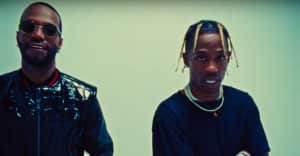 "Watch Juicy J and Travis Scott's ""Neighbor"" video"