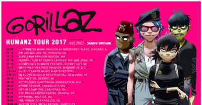 Vince Staples And Danny Brown Are Going On Tour With Gorillaz
