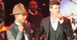 "Pharrell and Robin Thicke ordered to pay nearly $5 million in ""Blurred Lines"" lawsuit"