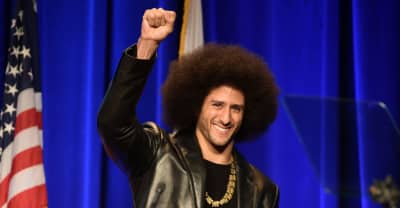 Watch Colin Kaepernick accept the ACLU's Courageous Advocate award