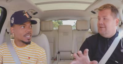 Watch Chance The Rapper join James Corden for Carpool Karaoke