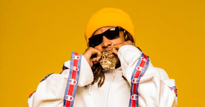 "Nef The Pharaoh And Slimmy B Dare You To Stare On ""Bling Blaow!"""