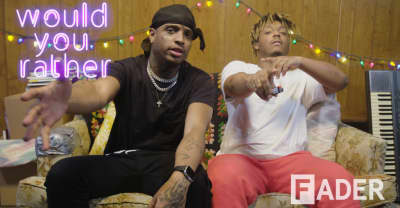Ski Mask the Slump God and Juice WRLD get baked, play Would You Rather?