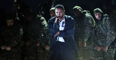Watch Kendrick Lamar, Dave Chappelle, and U2 open up the 2018 Grammys