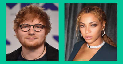 Ed Sheeran says Beyoncé changes her email address every week