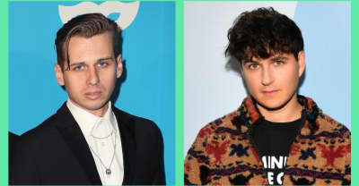 Ezra Koenig interviewed Foster The People's Mark Foster about Jeffery Epstein conspiracy theories