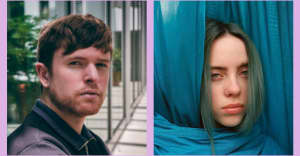 "Watch James Blake cover Billie Eilish's ""when the party's over"""