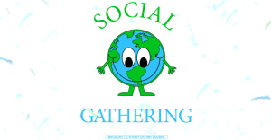 Gatsby Global share the love for our planet on Social Gathering compilation