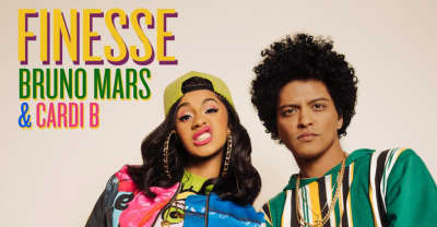 "Cardi B and Bruno Mars tease new single ""Finesse"""