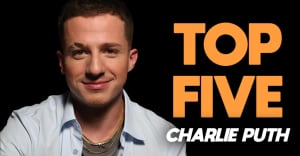 The 5 songs Charlie Puth just can't get out of his head