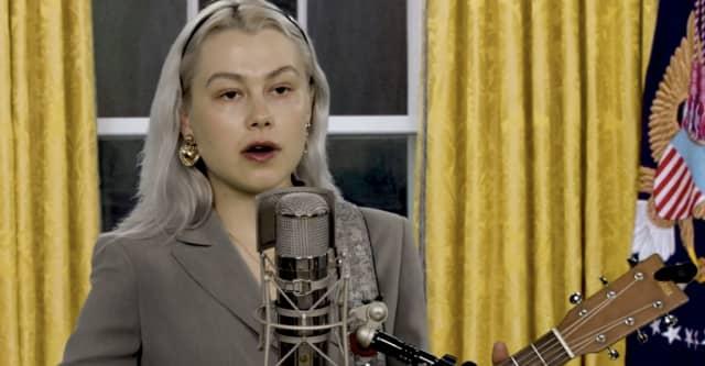 Watch Phoebe Bridgers address the nation in her Tiny Desk Concert 1