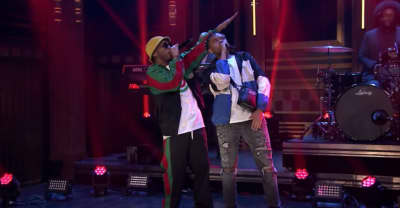 "Watch YBN Cordae and Anderson .Paak debut new song ""RNP"" on Fallon"