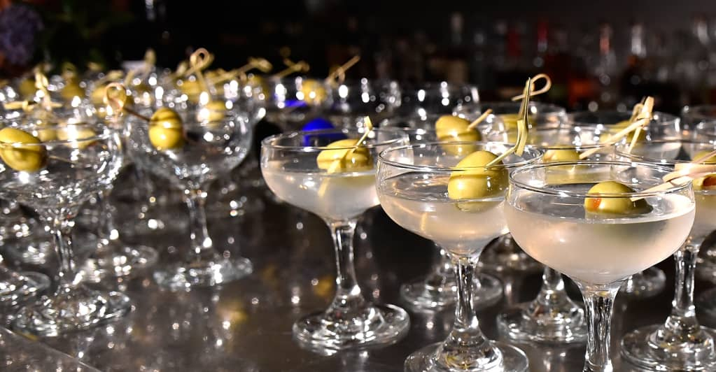 A classic gin martini is the perfect fall drink
