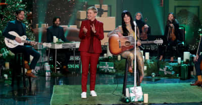 "Watch Kacey Musgraves bring ""Christmas Makes Me Cry"" to Ellen"