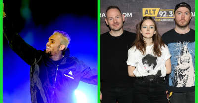 Chris Brown and Tyga respond to Chvrches' criticism over Marshmello collaboration