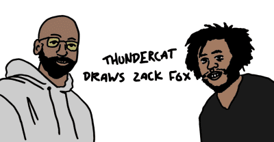 Watch Thundercat And Zack Fox Shoot The Shit While Drawing Portraits Of Each Other