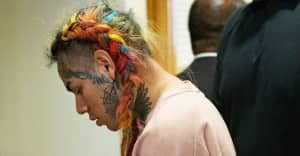6ix9ine filmed allegedly discussing a hit on Chief Keef's cousin days before shooting