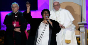When Aretha Franklin sang for Pope Francis