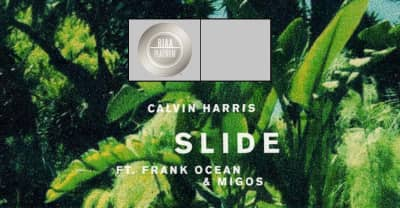 "Calvin Harris's ""Slide"" Has Gone Platinum"