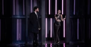 """Watch The Weeknd and Ariana Grande's """"Save Your Tears"""" performance at 2021 iHeartRadio Music Awards"""