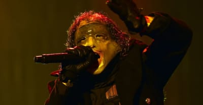Slipknot fans set fire to Evanescence's drum kit as Mexican festival descends into chaos
