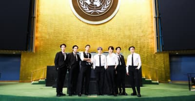 """Watch BTS perform """"Permission To Dance"""" at the United Nations"""