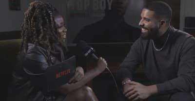 Drake talks Top Boy at London premiere