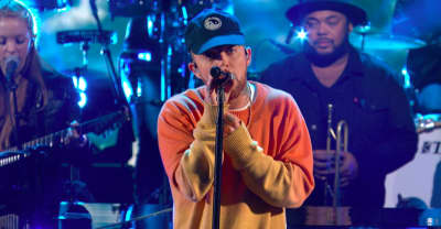 "Watch Mac Miller perform ""Ladders"" on The Late Show"