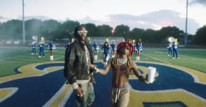 """2 Chainz enlists Lil Wayne for the """"Money Maker"""" video"""