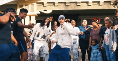 "Justin Bieber and Quavo share the wealth in the ""Intentions"" video"