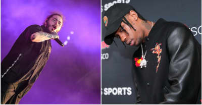 Travis Scott will headline Post Malone's festival