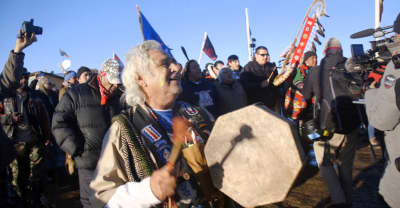 The F.B.I. Is Reportedly Investigating Dakota Access Pipeline Protestors As Terrorists