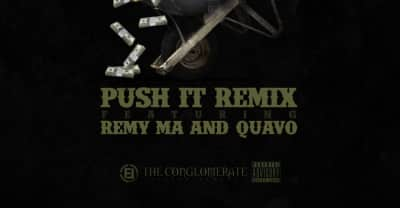 "Remy Ma And Quavo Join O.T. Genasis On The ""Push It"" Remix"