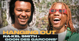 Sample fancy wine and raw beats in The FADER's Hanging Out with GOON DES GARCONS* and Na-Kel Smith