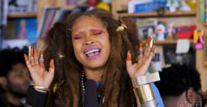 Watch Erykah Badu's NPR Tiny Desk Concert