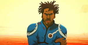 "Flying Lotus explores space and time in his animated ""More"" video"