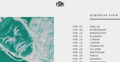 Kendrick Lamar announces DAMN. European tour dates with James Blake